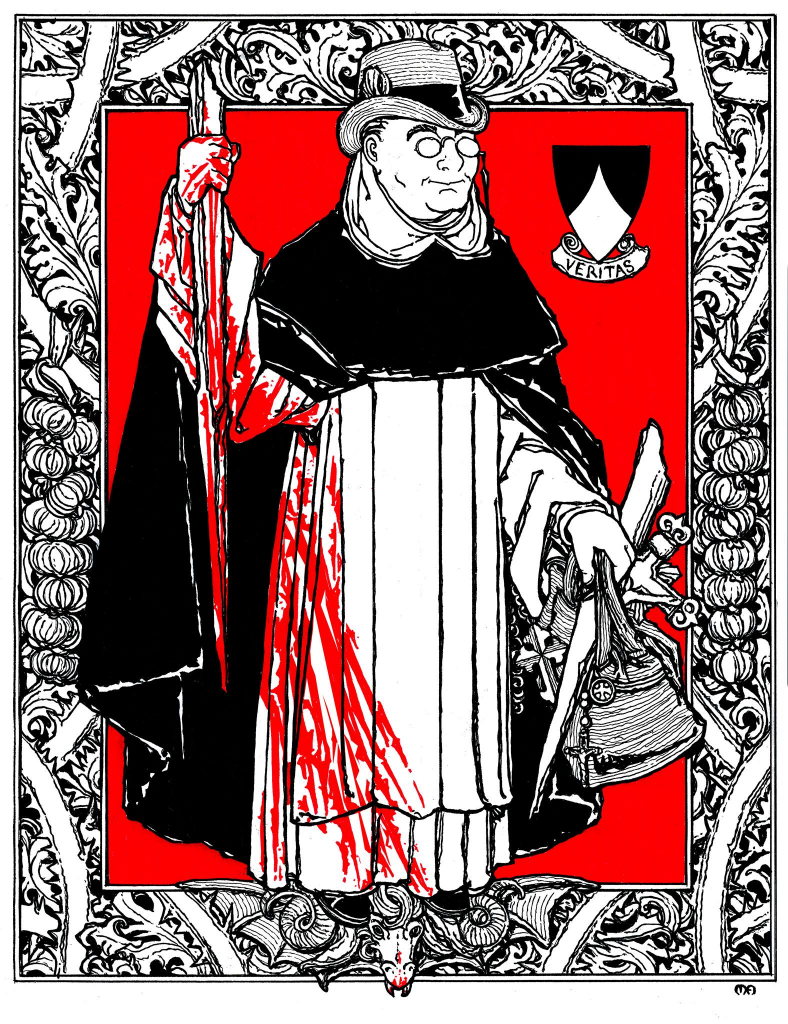 Fr. Thomas Edmund Gilroy, illustrated by Matthew G. Alderman. All rights reserved.
